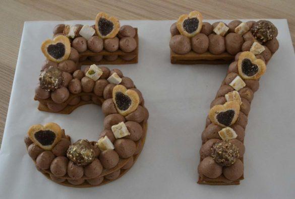 Number Cake - Sofia Beau