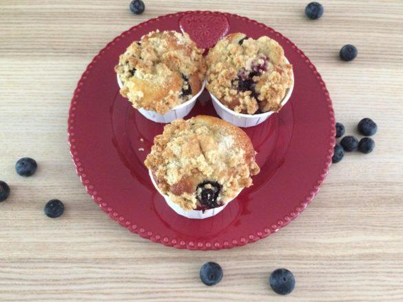 Muffins myrtilles - Sofia Beau